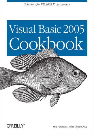 Okładka książki/ebooka Visual Basic 2005 Cookbook. Solutions for VB 2005 Programmers