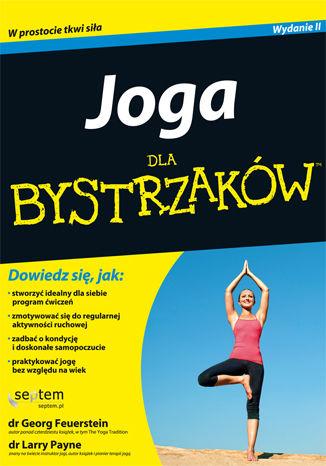 Okładka książki/ebooka Joga dla bystrzaków