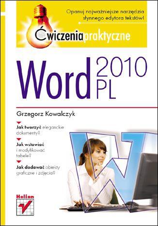 Okładka książki/ebooka Word 2010 PL. Ćwiczenia praktyczne