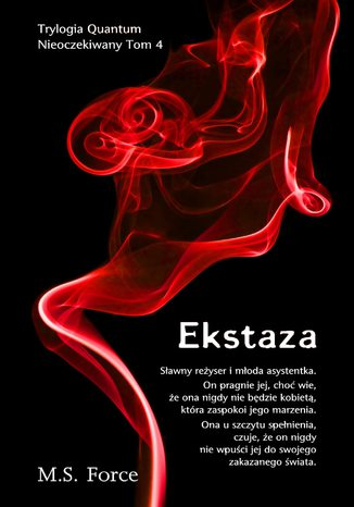 Okładka książki/ebooka Ekstaza