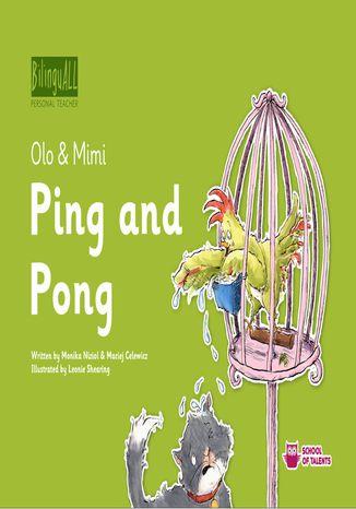 Okładka książki/ebooka Ping and Pong. Nauka angielskiego dla dzieci 2-7 lat