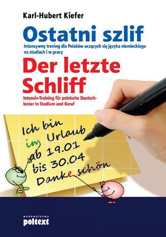Okładka książki/ebooka Ostani szlif