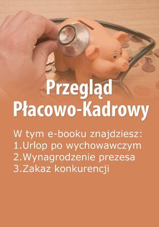 Okładka książki/ebooka Przegląd Płacowo-Kadrowy, wydanie maj 2014 r