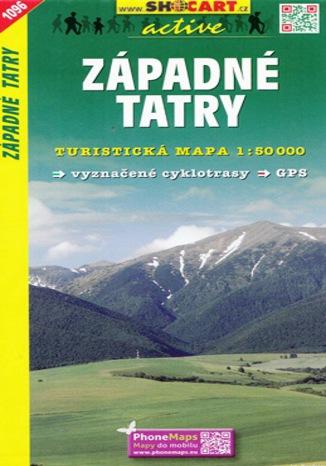 Okładka książki/ebooka Západné Tatry, 1:50 000
