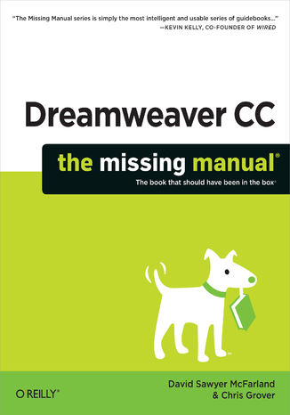 Okładka książki/ebooka Dreamweaver CC: The Missing Manual
