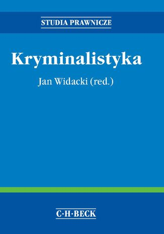 Okładka książki/ebooka Kryminalistyka
