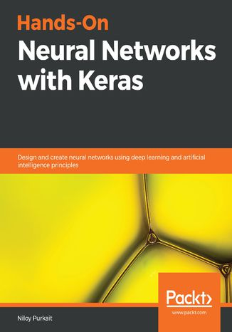 Okładka książki/ebooka Hands-On Neural Networks with Keras