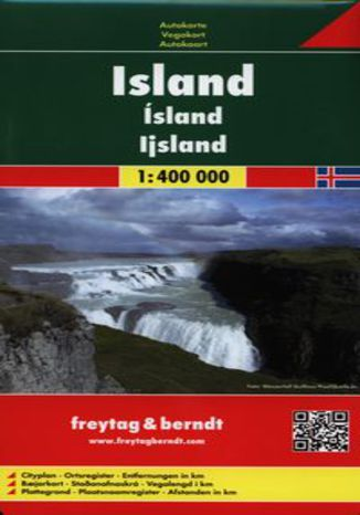 Okładka książki/ebooka Islandia mapa 1:400 000