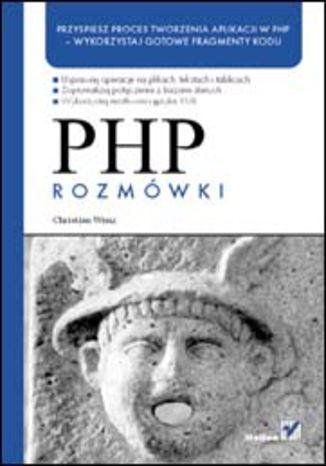 Okładka książki/ebooka PHP. Rozmówki