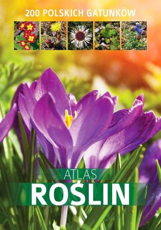 Okładka książki/ebooka Atlas roślin. 200 polskich gatunków