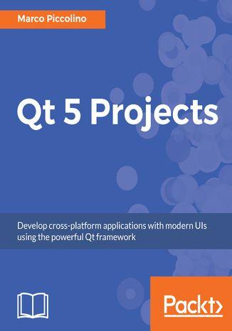 Okładka książki/ebooka Qt 5 Projects