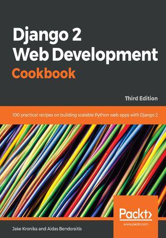 Okładka książki/ebooka Django 2 Web Development Cookbook