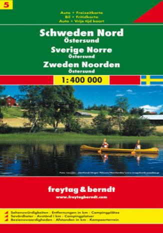 Okładka książki/ebooka Szwecja cz. 5 część północna. Mapa samochodowa