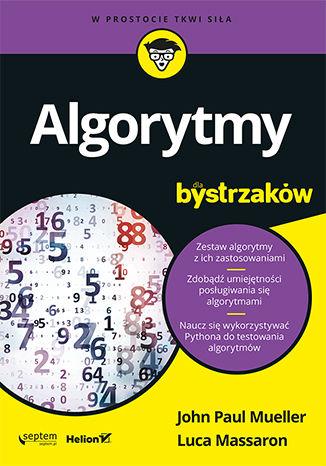Okładka książki/ebooka Algorytmy dla bystrzaków