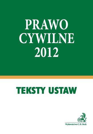 Okładka książki/ebooka Prawo cywilne 2012