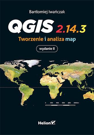 Okładka książki/ebooka QGis. Tworzenie i analiza map