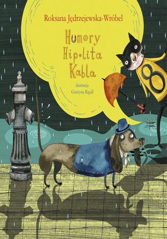 Okładka książki/ebooka Humory Hipolita Kabla