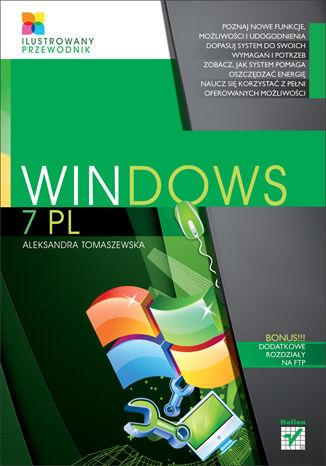Okładka książki/ebooka Windows 7 PL. Ilustrowany przewodnik