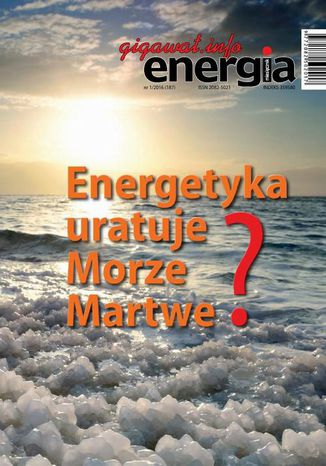 Okładka książki/ebooka Energia Gigawat nr 1/2016