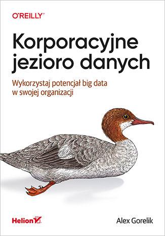 Okładka książki/ebooka Korporacyjne jezioro danych. Wykorzystaj potencjał big data w swojej organizacji