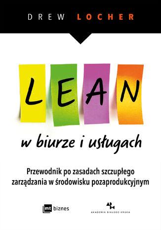 Okładka książki/ebooka Lean w biurze i usługach