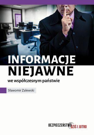 Okładka książki/ebooka Informacje niejawne we współczesnym państwie