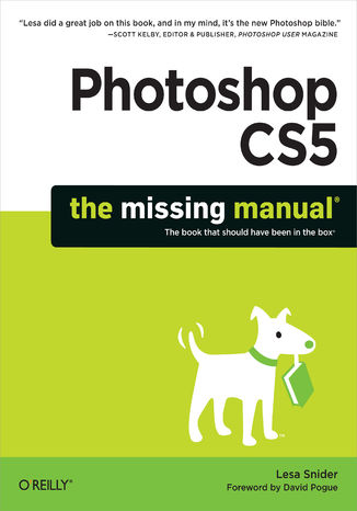 Okładka książki/ebooka Photoshop CS5: The Missing Manual