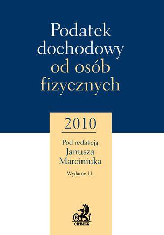 Okładka książki/ebooka Podatek dochodowy od osób fizycznych 2010