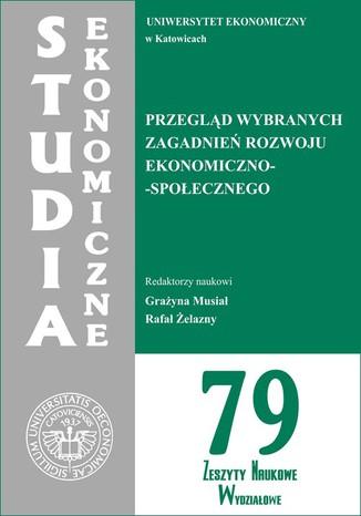 Okładka książki/ebooka Przegląd wybranych zagadnień rozwoju ekonomiczno-społecznego. SE 79
