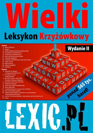 Okładka książki/ebooka Wielki Leksykon Krzyżówkowy LEXIC.PL