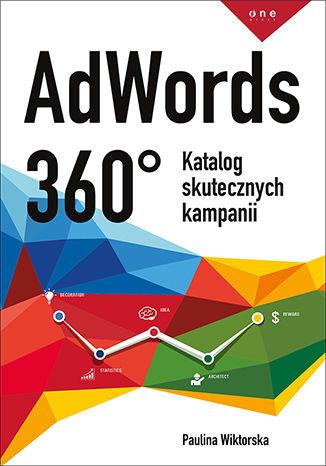 Okładka książki AdWords 360°. Katalog skutecznych kampanii