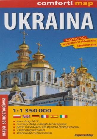 Okładka książki/ebooka Ukraina mapa 1: 350 000 Expressmap