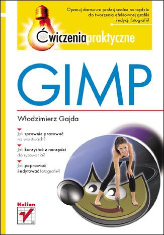 Okładka książki/ebooka GIMP. Ćwiczenia praktyczne