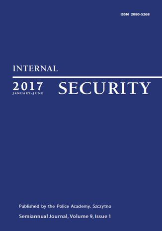 Okładka książki/ebooka Internal Security (January-June 2017) Vol. 9/1/2017