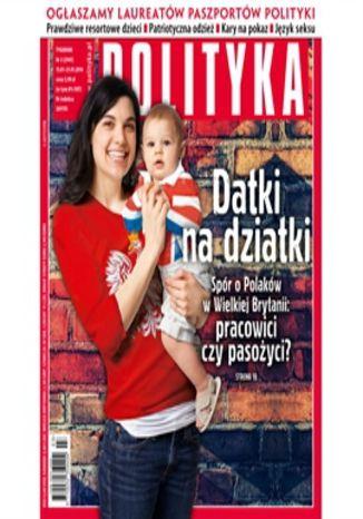 Okładka książki/ebooka AudioPolityka Nr 03 z 15 stycznia 2014