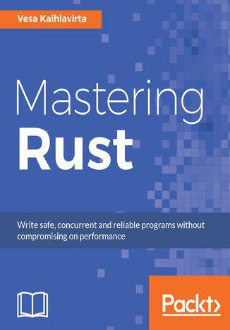 Okładka książki/ebooka Mastering Rust