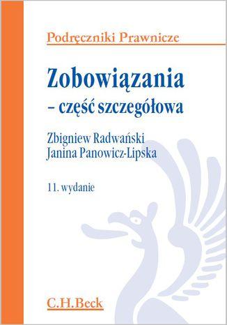 Okładka książki/ebooka Zobowiązania - część szczegółowa. Wydanie 11