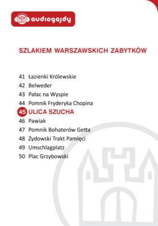 Okładka książki/ebooka Ulica Szucha. Szlakiem warszawskich zabytków