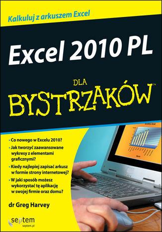 Okładka książki/ebooka Excel 2010 PL dla bystrzaków