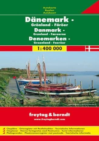 Okładka książki/ebooka Dania Grenlandia. Mapa 1:400 000