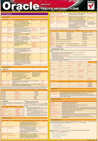 Okładka książki/ebooka Tablice informatyczne. Oracle