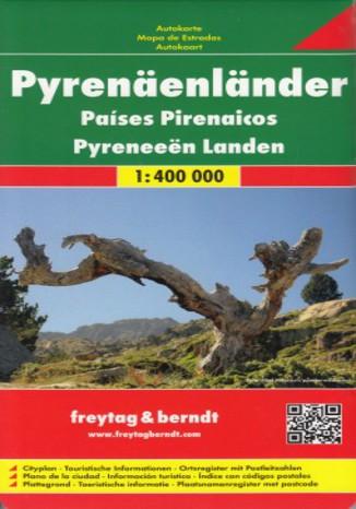 Okładka książki/ebooka Pireneje. Mapa Freytag & Berndt / 1:400 000