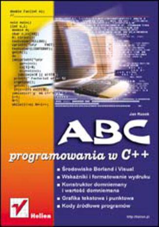 Okładka książki/ebooka ABC programowania w C++
