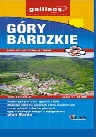 Okładka książki/ebooka Góry Bardzkie. Mapa [Galileos]