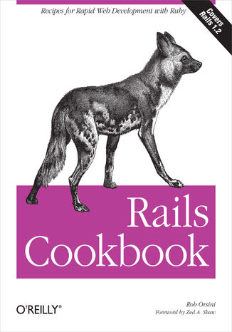 Okładka książki/ebooka Rails Cookbook. Recipes for Rapid Web Development with Ruby