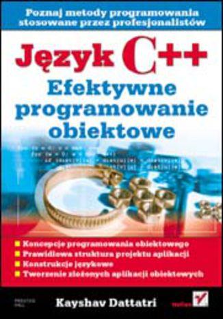 Okładka książki Język C++. Efektywne programowanie obiektowe
