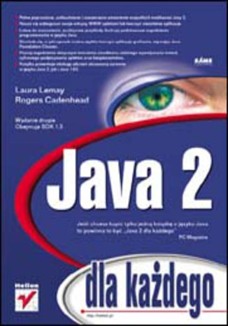 Okładka książki/ebooka Java 2 dla każdego