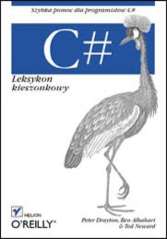 Okładka książki/ebooka C#. Leksykon kieszonkowy