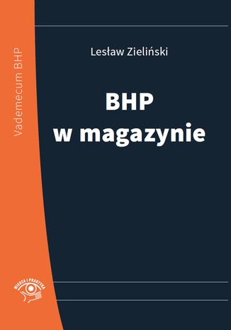Okładka książki/ebooka BHP w magazynie