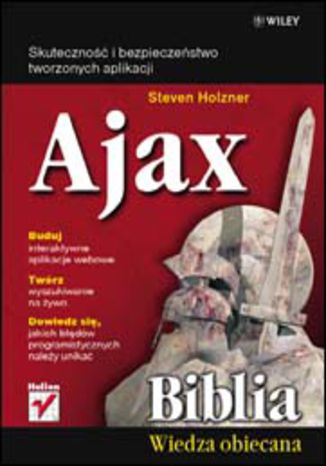 Okładka książki/ebooka Ajax. Biblia